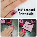 Nail DIY: Leopard Print Nails