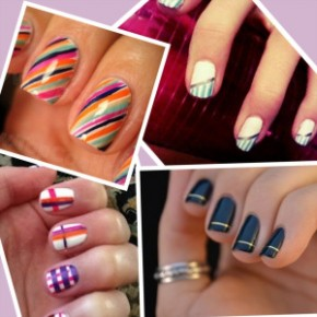 Nail Art Tips for Painting Stripes