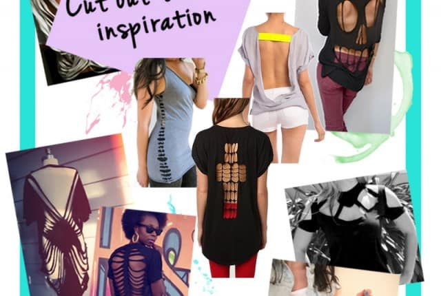 DIY: Cut Out T Shirt Inspiration and Tips