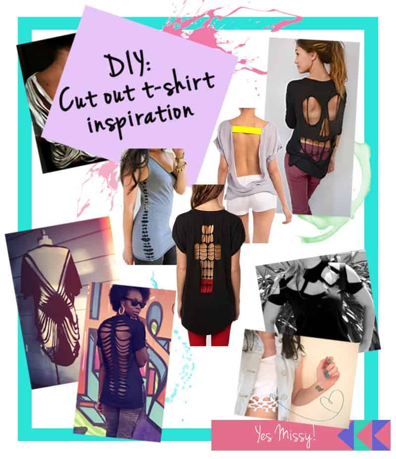 DIY: Cut out t-shirt inspiration