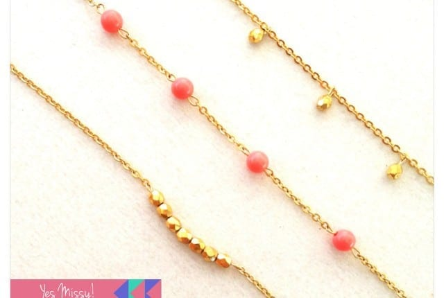 Etsy dainty gold bracelets