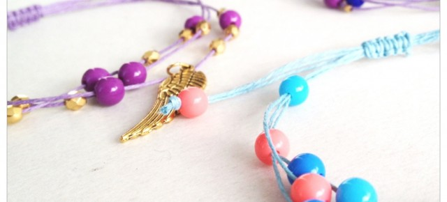 DIY: Hemp Beaded Wish Bracelet Tutorial
