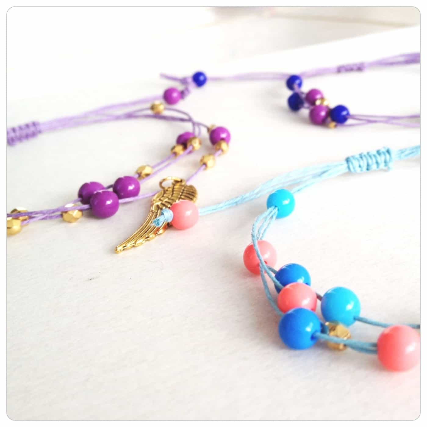 Jewelry DIY Hemp Beaded Bracelet