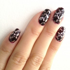 Nail DIY: Easy Quilted Nail Art Pattern