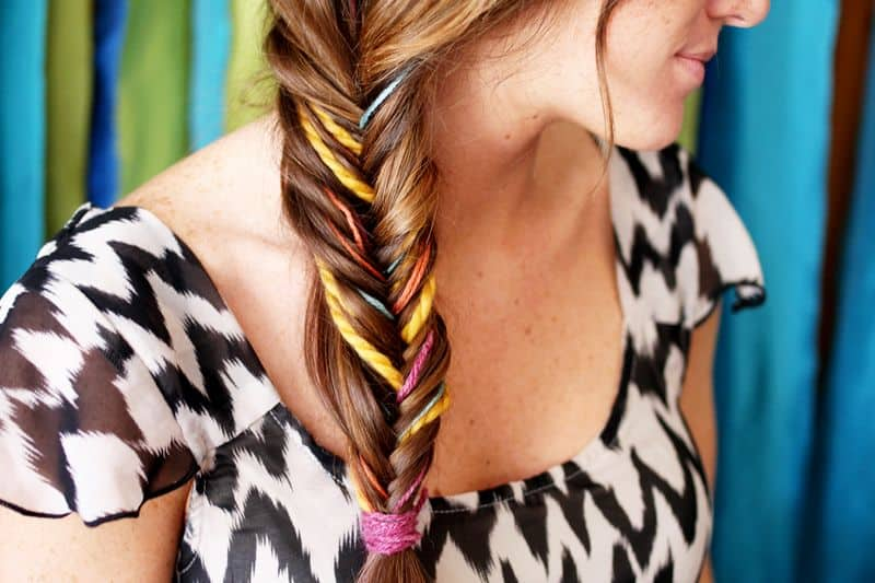 Unique Fishtail Braid tutorial