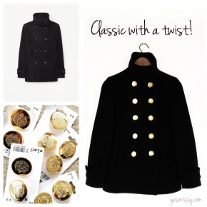 Fashion DIY: 2 Ways to Instantly Restyle Your Jackets & Coats