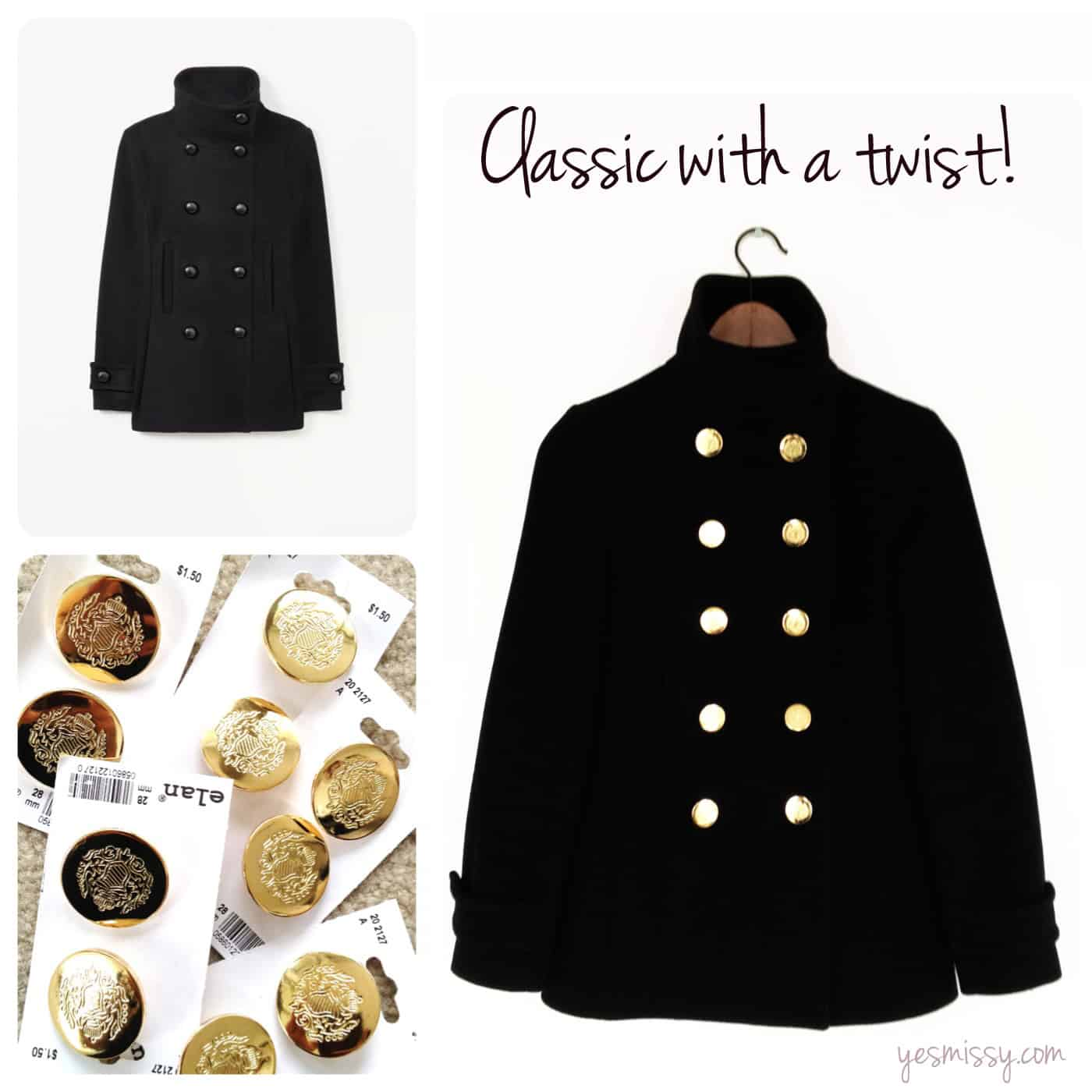 2 Ways to Restyle your coat or jacket