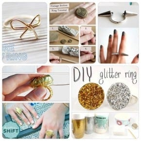 DIY Roundup: 7 Fun and Easy DIY Ring Tutorials