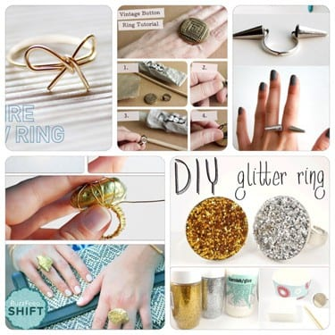 DIY Roundup: Rings