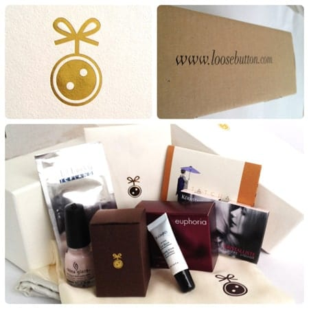 January Loose Button Luxe Box