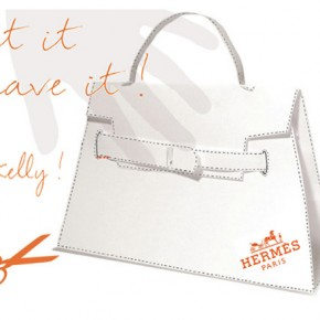 DIY Hermès Kelly Bag - Origami Paper Craft