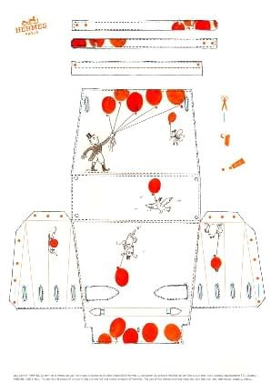 Hermès Kelly bag - Alice paper pattern