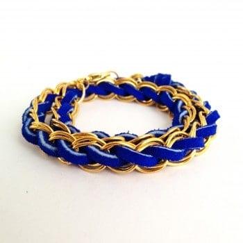 Woven Chain Bracelet DIY