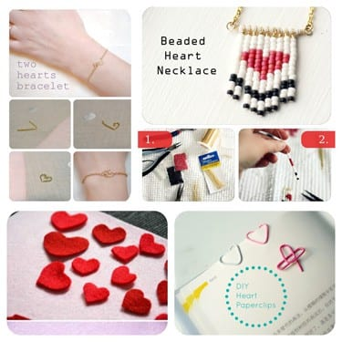 DIY roundup: Valentine's day crafts