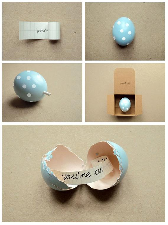 DIY Roundup: Message in an Easter Egg