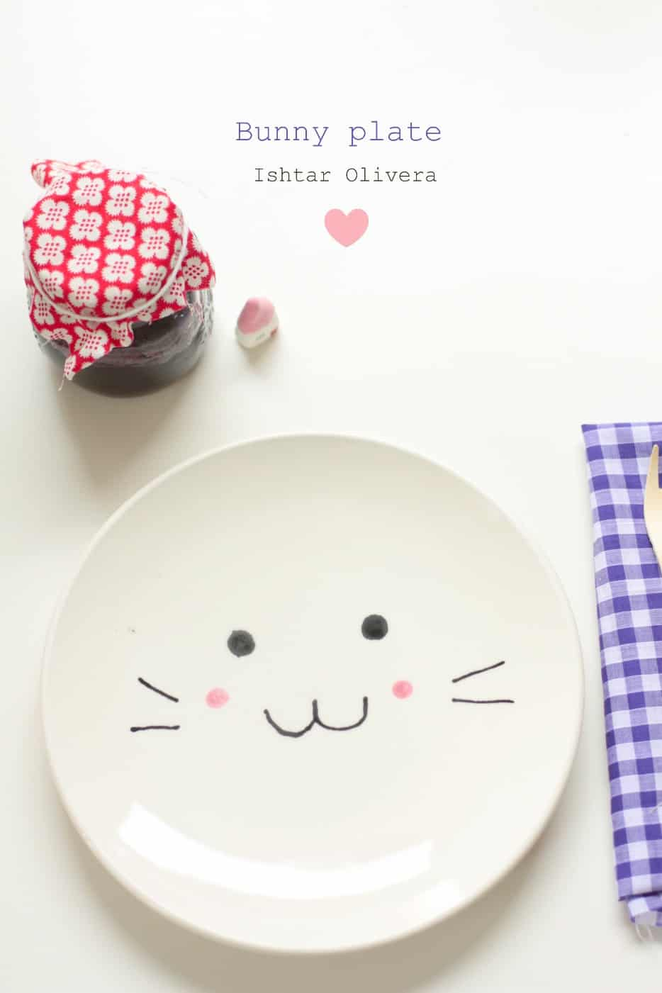 DIY Roundup: Bunny Plate