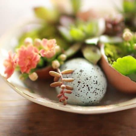 DIY easter egg decorating