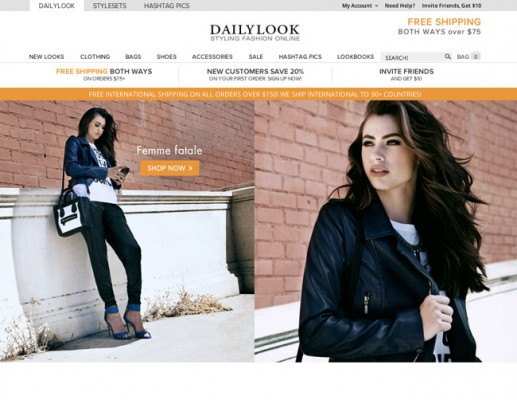 Top 10 Online Shopping Sites - Daily Look