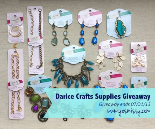 Jewelry DIY: Craft Supplies Giveaway