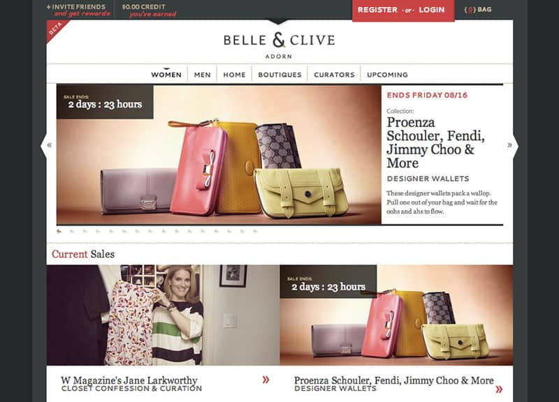Best Online Shopping Sites - Belle & Clive