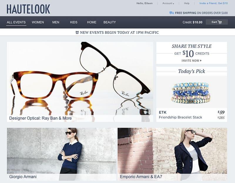 Best Online Shopping Sites - Hautelook
