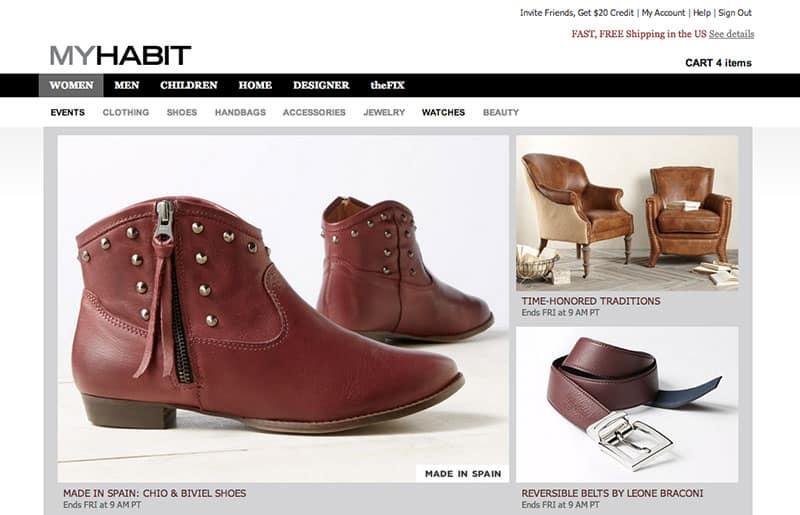 Best Online Shopping Sites - My Habit