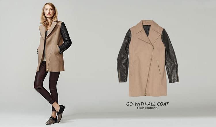 Fall Fashion Favorites - Two Toned Coat