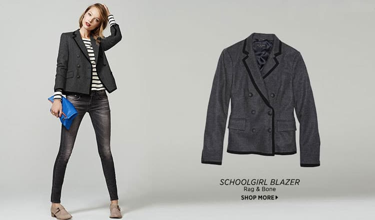 Fall Fashion Favorites - School Girl Blazer