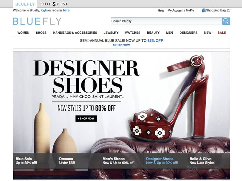 Best Online Shopping Sites - Bluefly