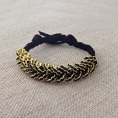 DIY Jewelry - Hex Nut Bracelet