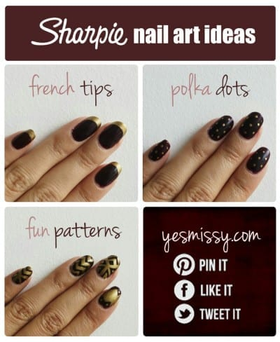 Sharpie Nail Art Design Tutorial & Tips - Read more!
