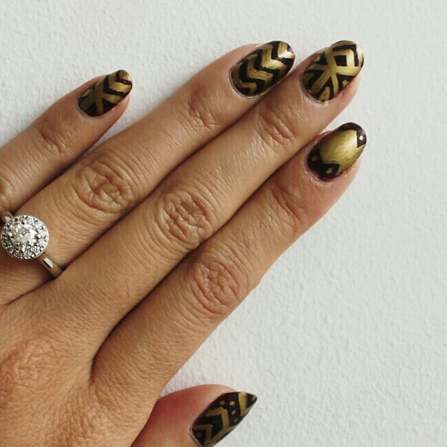 Sharpie Nail Art - Tutorials and Tips
