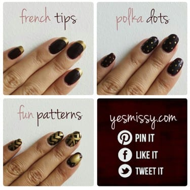Sharpie Nail Design Tutorials