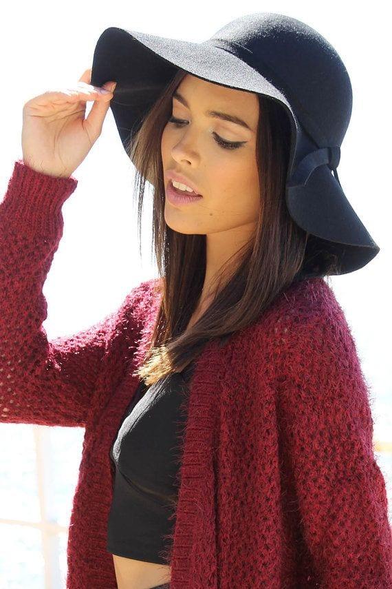 5 Winter Wardrobe Style Staples - Floppy Wool Hat