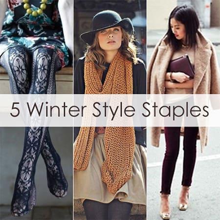 5 Winter Style Staples