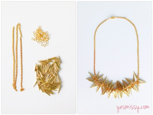Designher Kit - DIY Spike Necklace