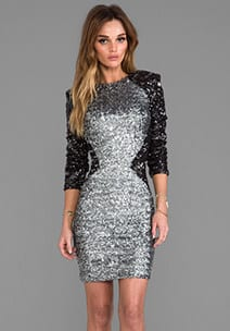 Dresses over $200 - Sequins Dress Revolve Clothing