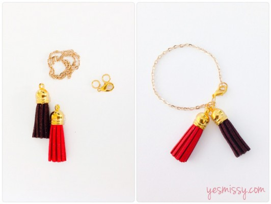 Designher Kit - DIY Tassel Bracelet