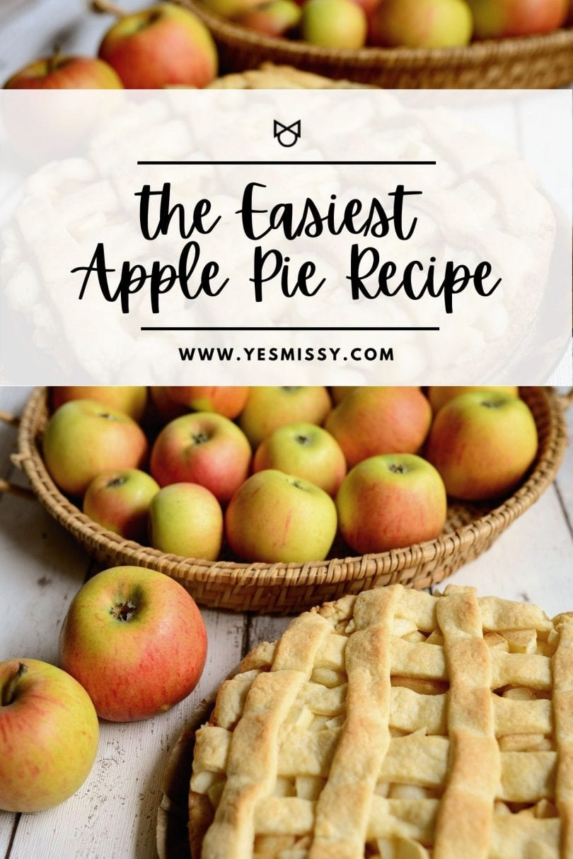 Fall is apple pie season! Make this easy apple pie with wholesome ingredients and just 15 minutes of prep time. Perfect for dessert and family gatherings!