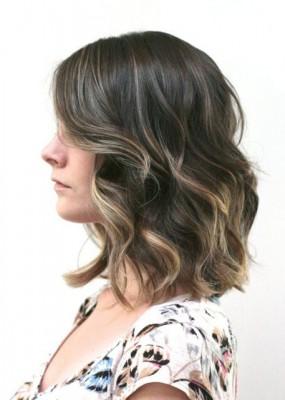Ombre Long Bob Hair Style