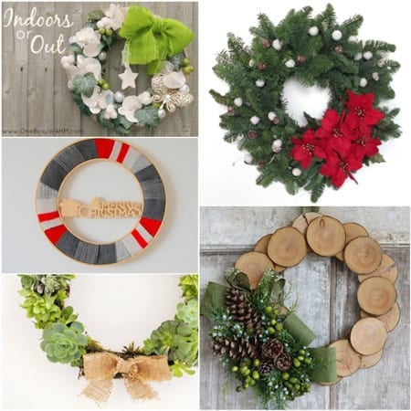 DIY 5 Christmas Wreath Ideas