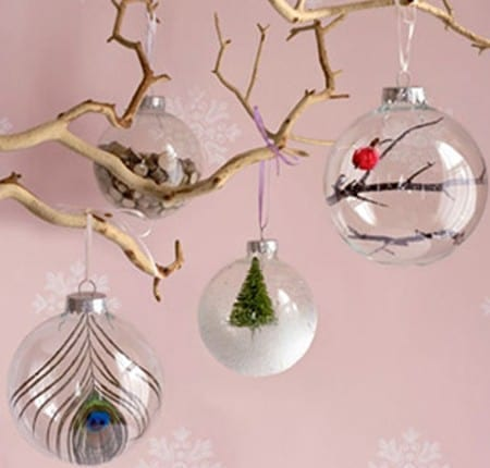 10 DIY Christmas Ornament Ideas