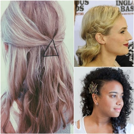 Creative Bobby Pin Hairstyles