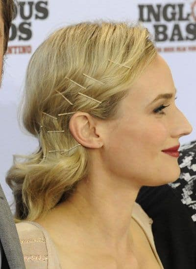 Diane Kruger - Side Pinned Hairstyle