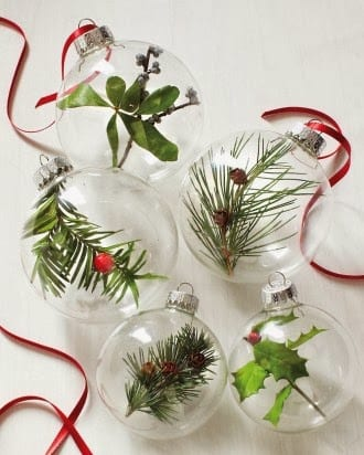 DIY Nature Ornaments