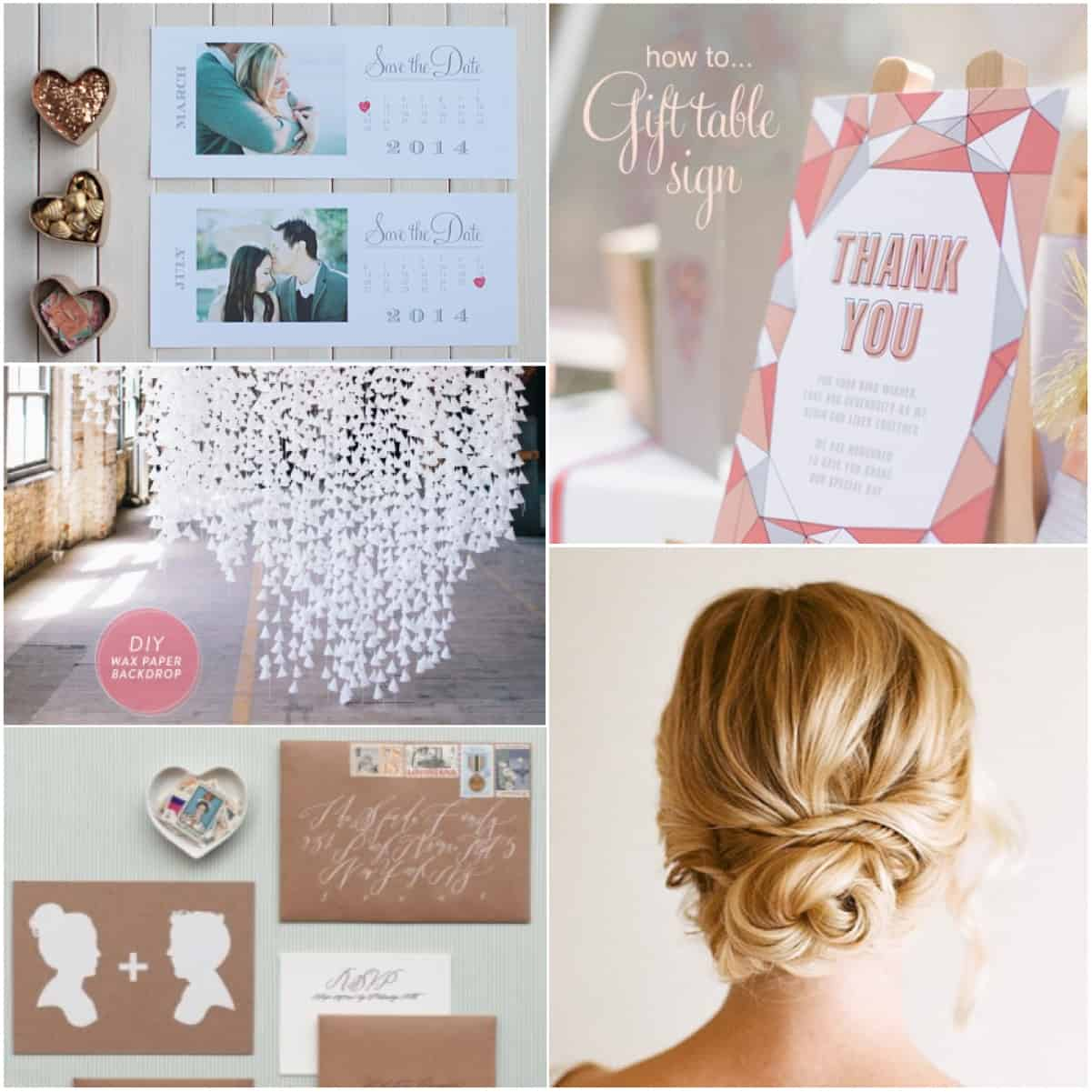 20 inspirational wedding blogs diy ideas junglespirit Image collections