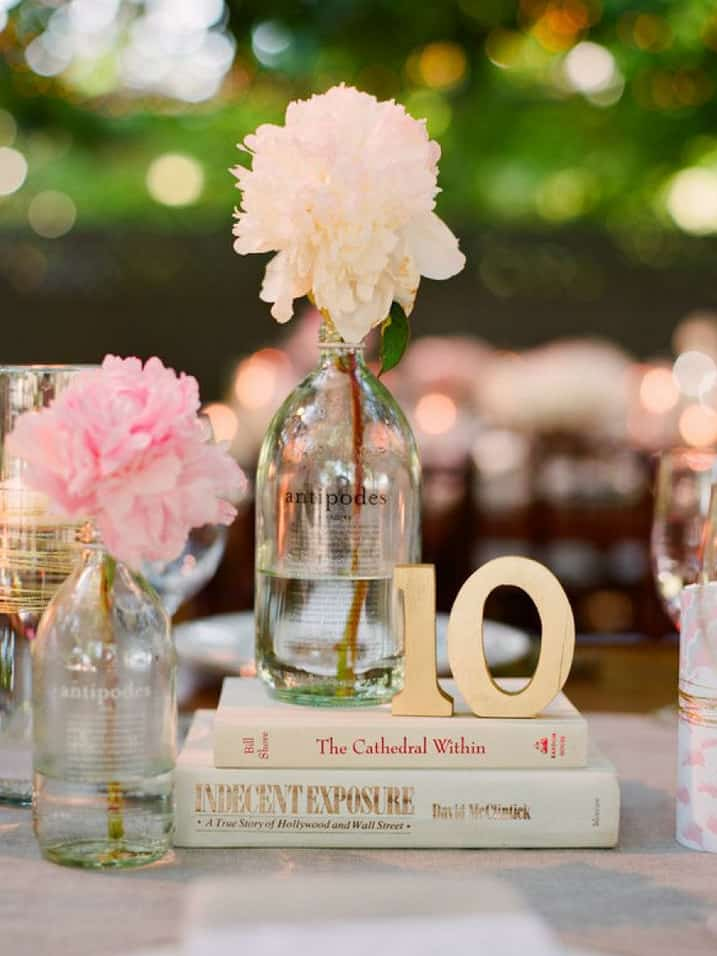 Centerpiece Ideas Using Books : Wedding decor inspiration antique book centerpieces yes