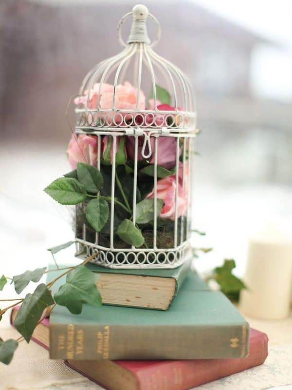 DIY Centerpieces - Book Centerpiece Ideas