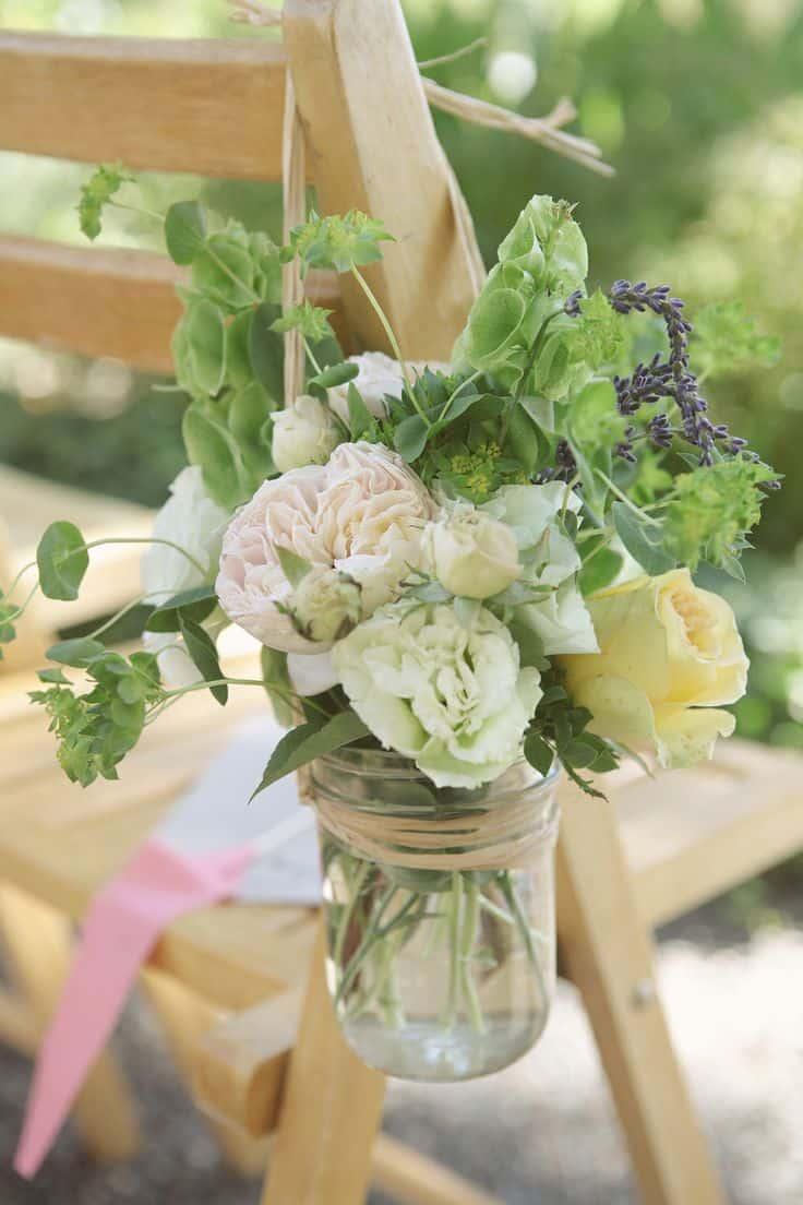 20 Mason Jar Ideas - Decorative Hanging Vases
