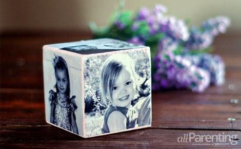 DIY Mother's Day Photo Cube